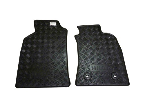 Toyota Hilux Genuine Rubber Front Floor Mats