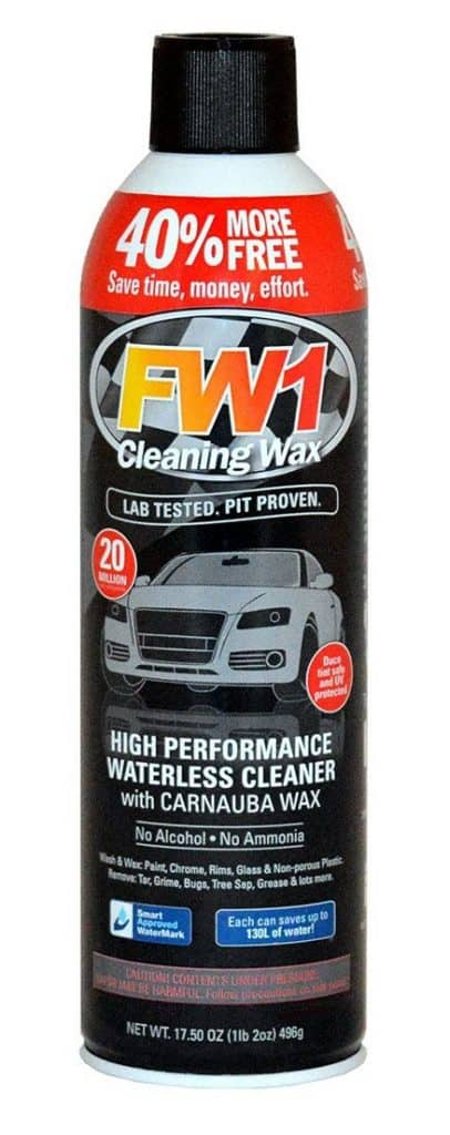 FW1 Hero wash wax polish as you clean car detailing car care products FW1 single can product image